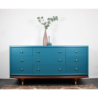 Mid Century Modern Dresser by ReNuvoDesign