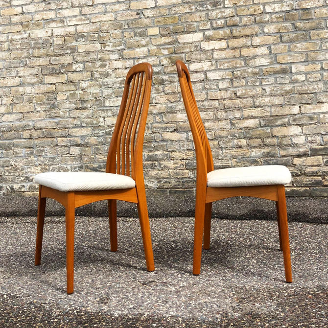 Benny Linden Teak Dining Chairs