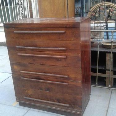 Vintage Six Drawer Dresser / chest