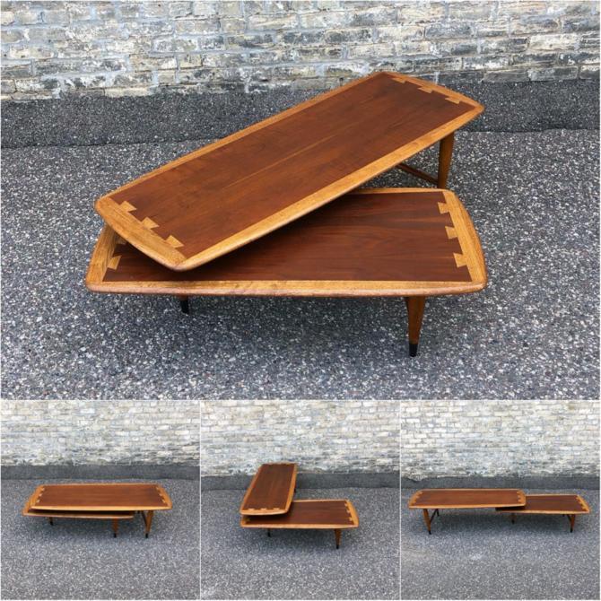 Lane Acclaim Pivoting 'boomerang' Coffee Table
