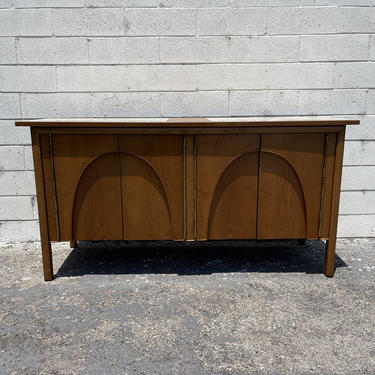 Mid Century Modern Wood Sideboard Drexel Composite Tv Media Console Furniture Cabinet Buffet Server Storage Credenza Bar CUSTOM PAINT AVAIL by DejaVuDecors