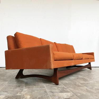 Mid Century Pearsall style Gondola Sofa by Kroehle