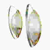 Rare Textured Glass Sconces by Stilnovo