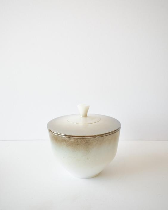 Vintage Federal Milk Glass 1.5 Quart Covered Casserole Dish / Serving Bowl by ShopLantanaLane