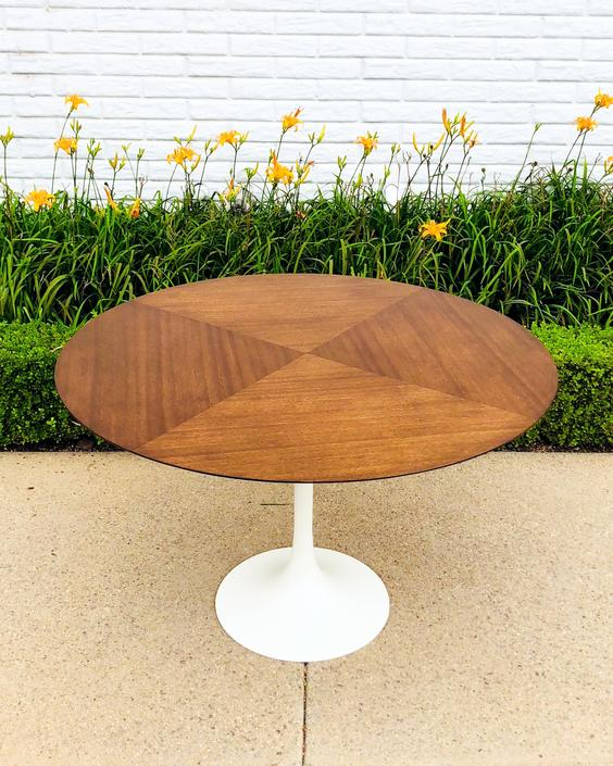 Mid-Century Vintage Tulip Style Dining Table by VintageSupplyLA