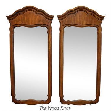 Antique Tween Mirrors – A pair