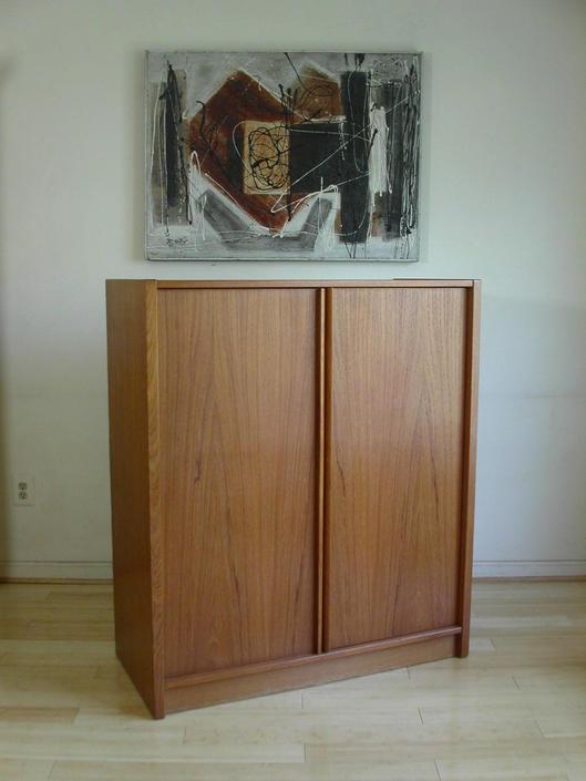 Teak Danish Modern Gentleman's Chest / Dresser / Credenza By Jesper of Denmark MCM Mid Century CALL Chris 571 330 0810 by RetroSquad