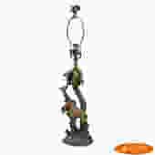 Small Palm Tree Giraffe Table Lamp