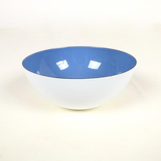 Enamel Bowl From Finland