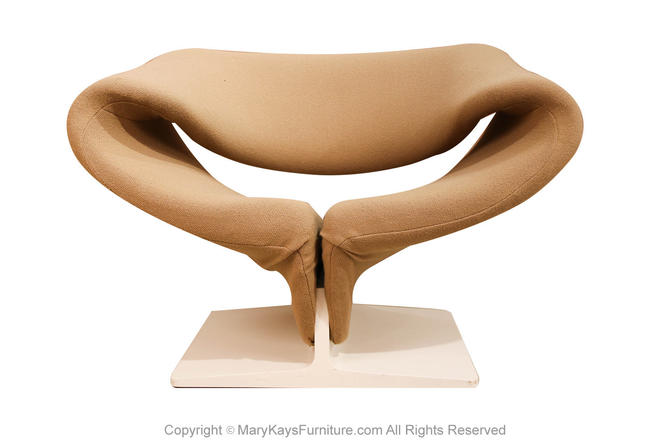 Pierre Paulin Artifort Ribbon Lounge Armchair by Marykaysfurniture