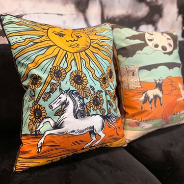 Tarot Pillow, multiple styles