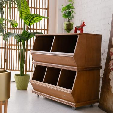 Double Stack Cubby Hole Cabinets