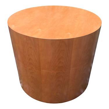 Drum Cylinder Side Table Paul Mayen Style