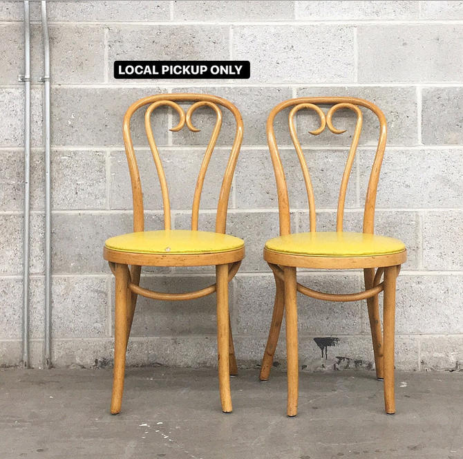 LOCAL PICKUP ONLY ———— Vintage Bentwood Chairs by RetrospectVintage215