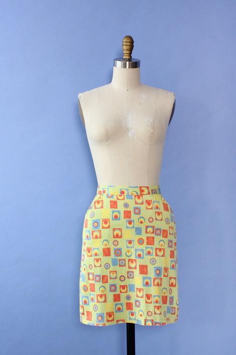 Versus Versace Lime Skirt XS