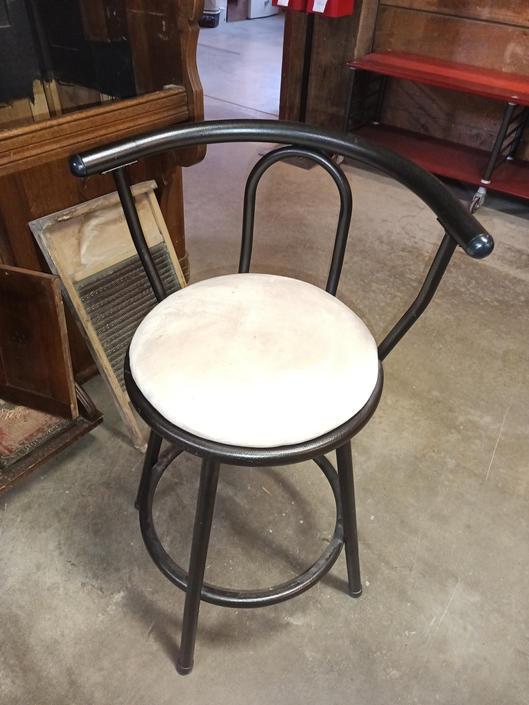 """Swivel bar chair 16""""W ×22""""H"""