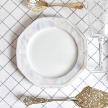 Savoir Vivre Salad Snack Plates x3 | Celina Pattern | Oven to Table Dishwasher Safe Microwave Safe Fine China | 80s 70s 90s Pastel Boho by LostandFoundHandwrks