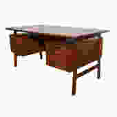 Gunni Omann Teak Desk Model 75 by HearthsideHome