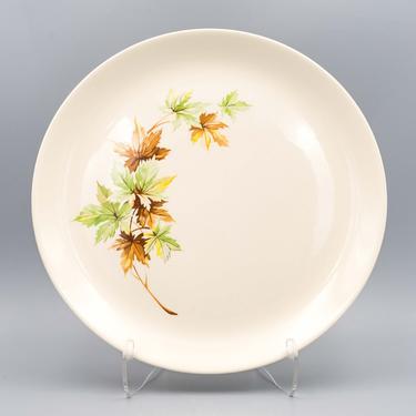 Salem China Maple Leaf Dinner Plate | Vintage Autumn Mid Century Modern Dinnerware | Thanksgiving Dinner Plate | Fall Season Decor by MostlyMidCenturySF