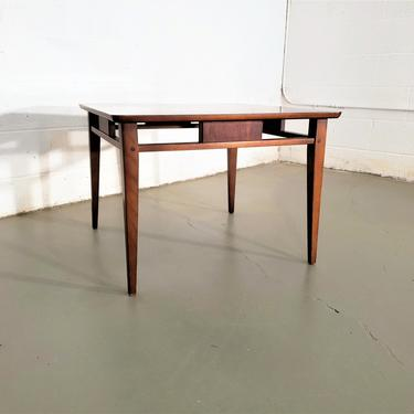 Mid Century Danish Modern Lane Squared End / Side Table by ProRefineFurnishings