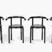 Kartell Dining Chairs by Anna Castelli Ferrieri