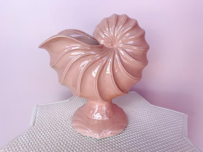 Blush Seashell Cachepot