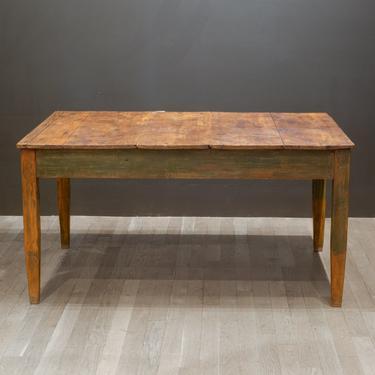 Mid 19th/Early 20th c. Primitive Farmhouse Table c.1850-1920