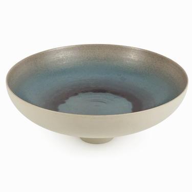 Japanese Ceramic Ikebana Vase Extra Large Mid Century Modern by VintageInquisitor