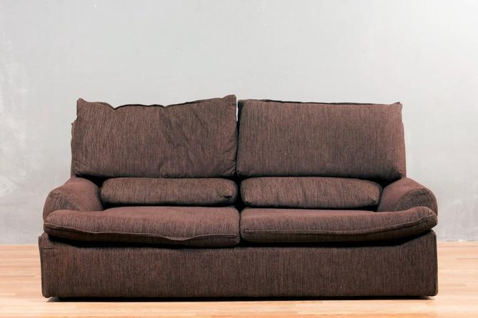 Dark Chocolate Double-Pillow Sofa – ONLINE ONLY