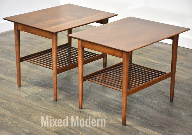 Paul McCobb Planner Group End Tables - A Pair by mixedmodern1