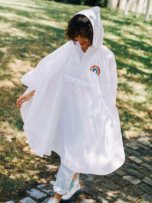 RAINBOW Poncho Raincoat