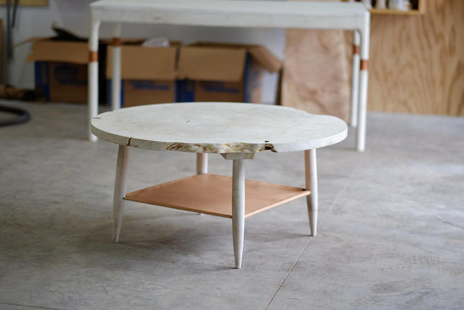 Modern Coffee Table //  Mid Century Modern Coffee Table // Maple Table by BeautyBreadWoodshop
