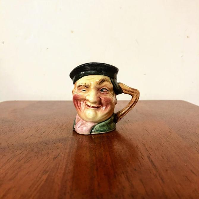 Vintage Hand Painted Made in Japan Small Character Jug by OverTheYearsFinds