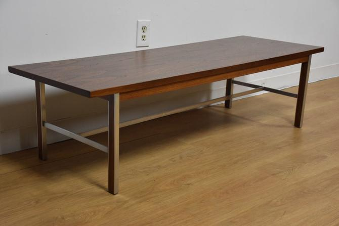 Paul McCobb for Calvin Walnut Coffee Table by mixedmodern1