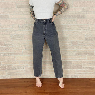 LEE Riders Faded Black Jeans / Size 30 by NoteworthyGarments