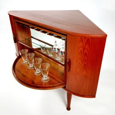 Teak Liquor Cabinet - A Classic by ModernMixPlus
