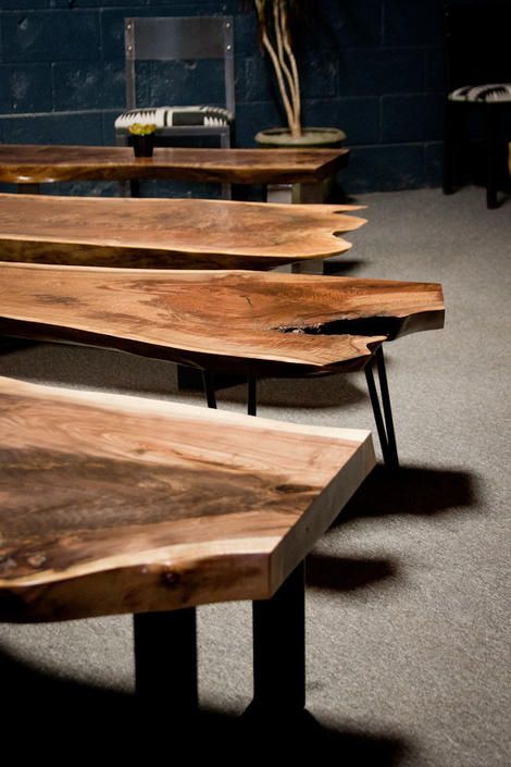 Swell Live Edge Coffee Table Walnut Custom Built Seattle Gmtry Best Dining Table And Chair Ideas Images Gmtryco