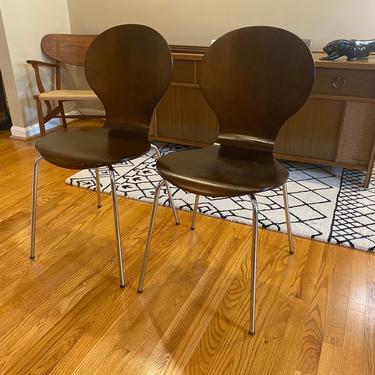 Vintage Danish Bentwood Chairs by Billund Mobeldabrik Stackable by MSGEngineering