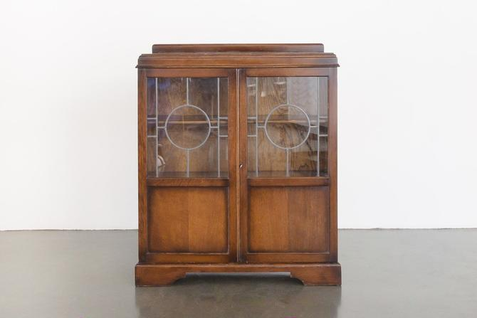 Deco Glass Cabinet by HomesteadSeattle