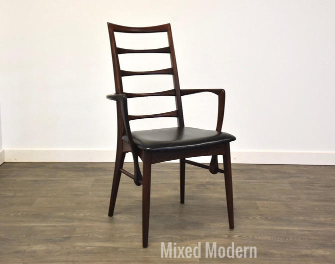 Rosewood Dining Arm Chair by Koefoeds Hornslet by mixedmodern1