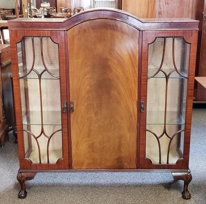 Item 3S55 Traditional English Display / China Cabinet c.1930s
