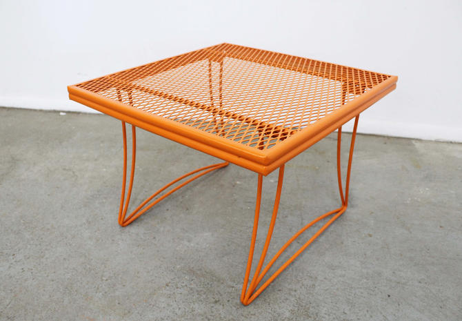 Mid-Century Modern Homecrest Bottemiller Metal End Table 1521 by AnnexMarketplace