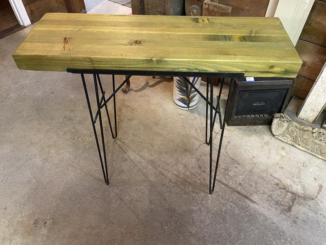 """Sweet Little """"Mid-Century"""" Console Table 36""""w x 33""""t x 11.5d"""