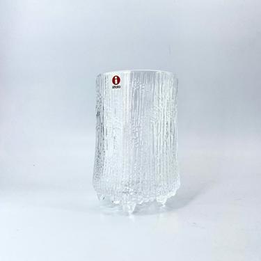 Iittala Finland Ultima Thule Tumbler Water Glass Whiskey Vase Design by Tapio Wirkkala Scandinavian Danish Modern by BrainWashington