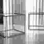 Pair of Isosceles Tables by Max Sauze