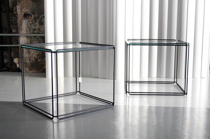 Pair of Isosceles Tables by Max Sauze