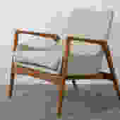 Ib Kofod-Larsen Danish Modern Lounge Chair