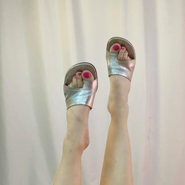Donald Pliner toe hold kitten heels by shopjournal