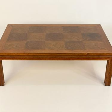Vintage Parsons Style Walnut Coffee Table by CAL MODE - *Please ask for a shipping quote before you buy. by CoolCatVintagePA