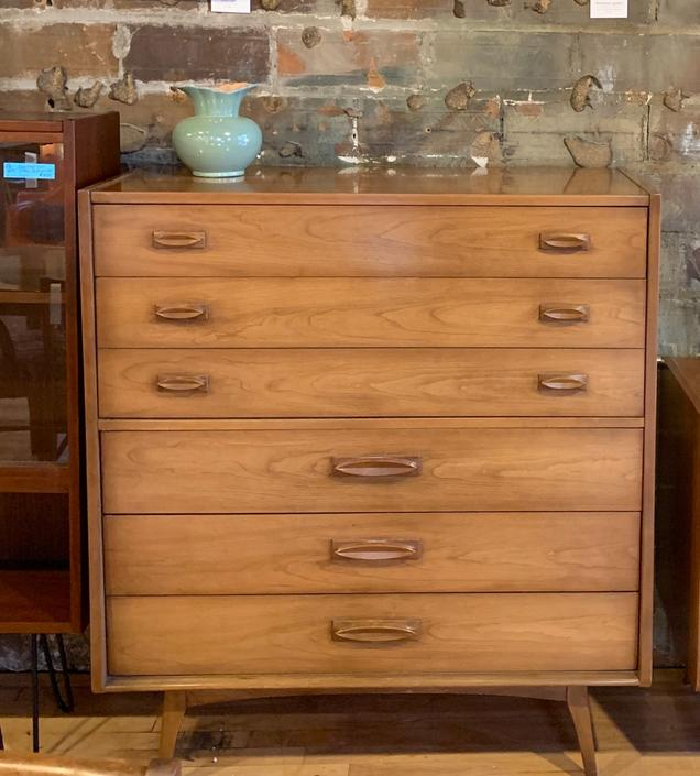 Mid-Century Tallboy Dresser